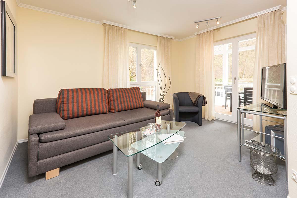 Villa Strandperle Binz - Appartement 3 - Wohnen