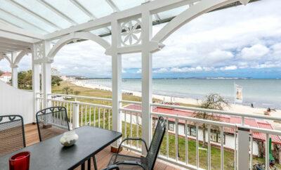 **** Villa Strandperle Ferienwohnung 15 Strandpromenade Binz