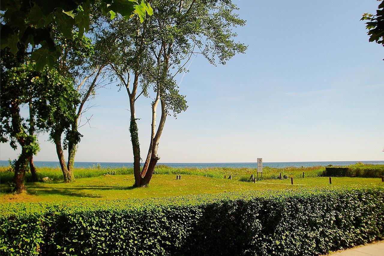 Strand im Ostseebad Binz auf Rügen