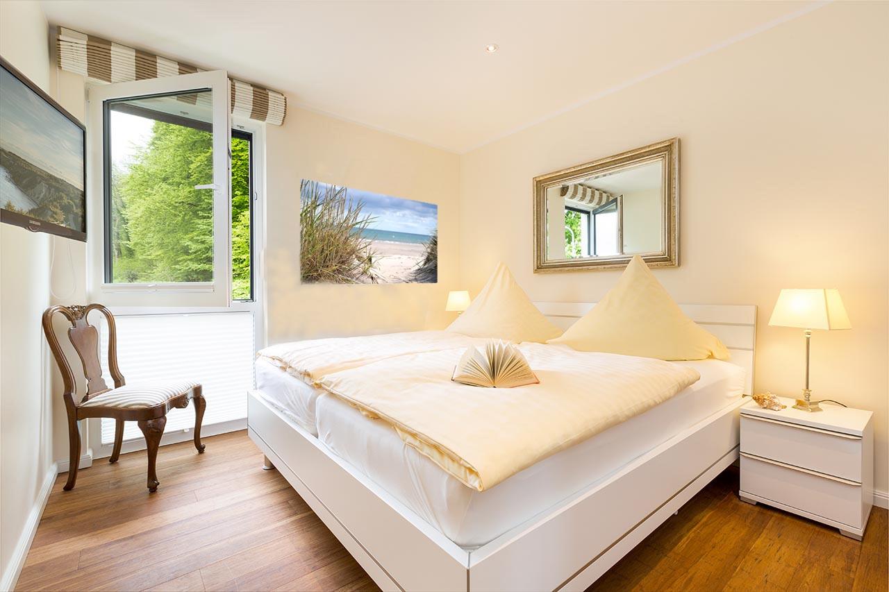 Luxus-Ferienwohnung Binz, Residenz Capitello Appartement 4 **** direkt am Kurpark in Binz auf Rügen