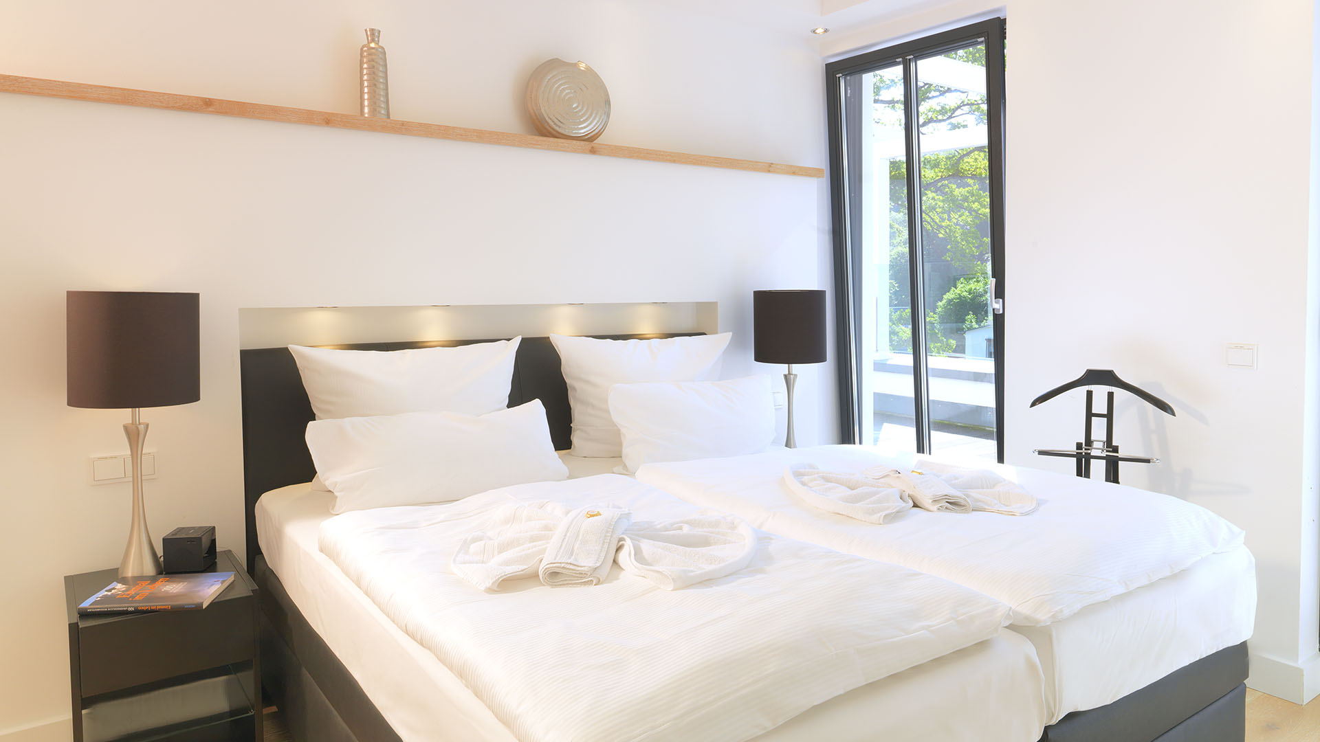 Parkvilla Augustine, Luxus Appartement BEACH CLOUD **** im Kurpark Ostseebad Binz
