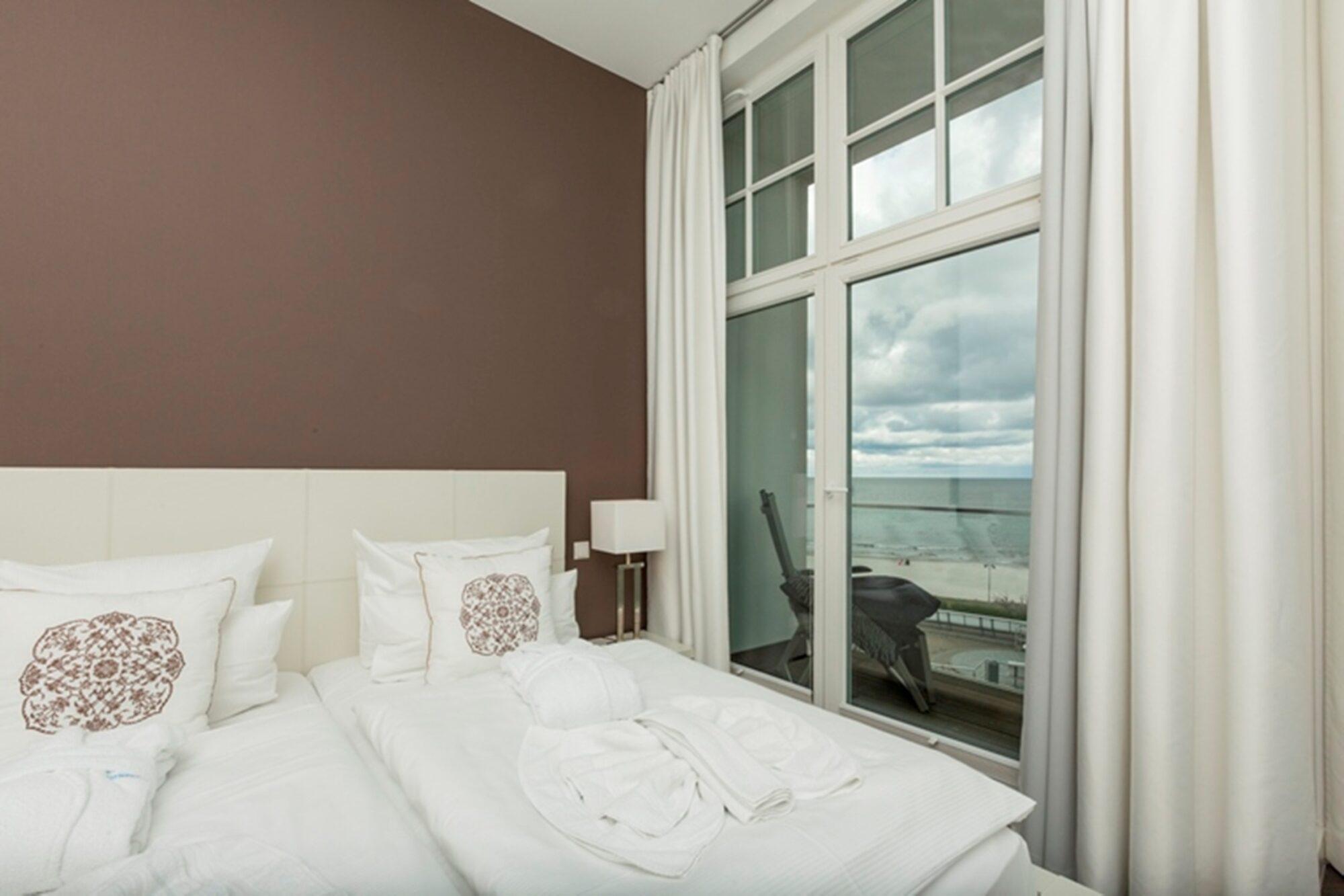 Strandschloss Binz Luxus Residenz Ocean One direkt an der Seebrücke