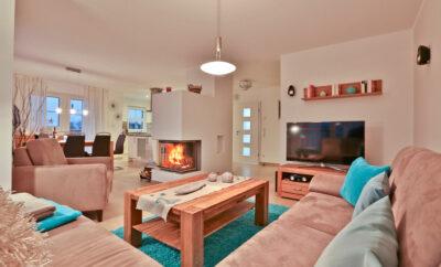 Strandvilla Babette – Doppelhaushälfte A am Strand in Lobbe auf Rügen