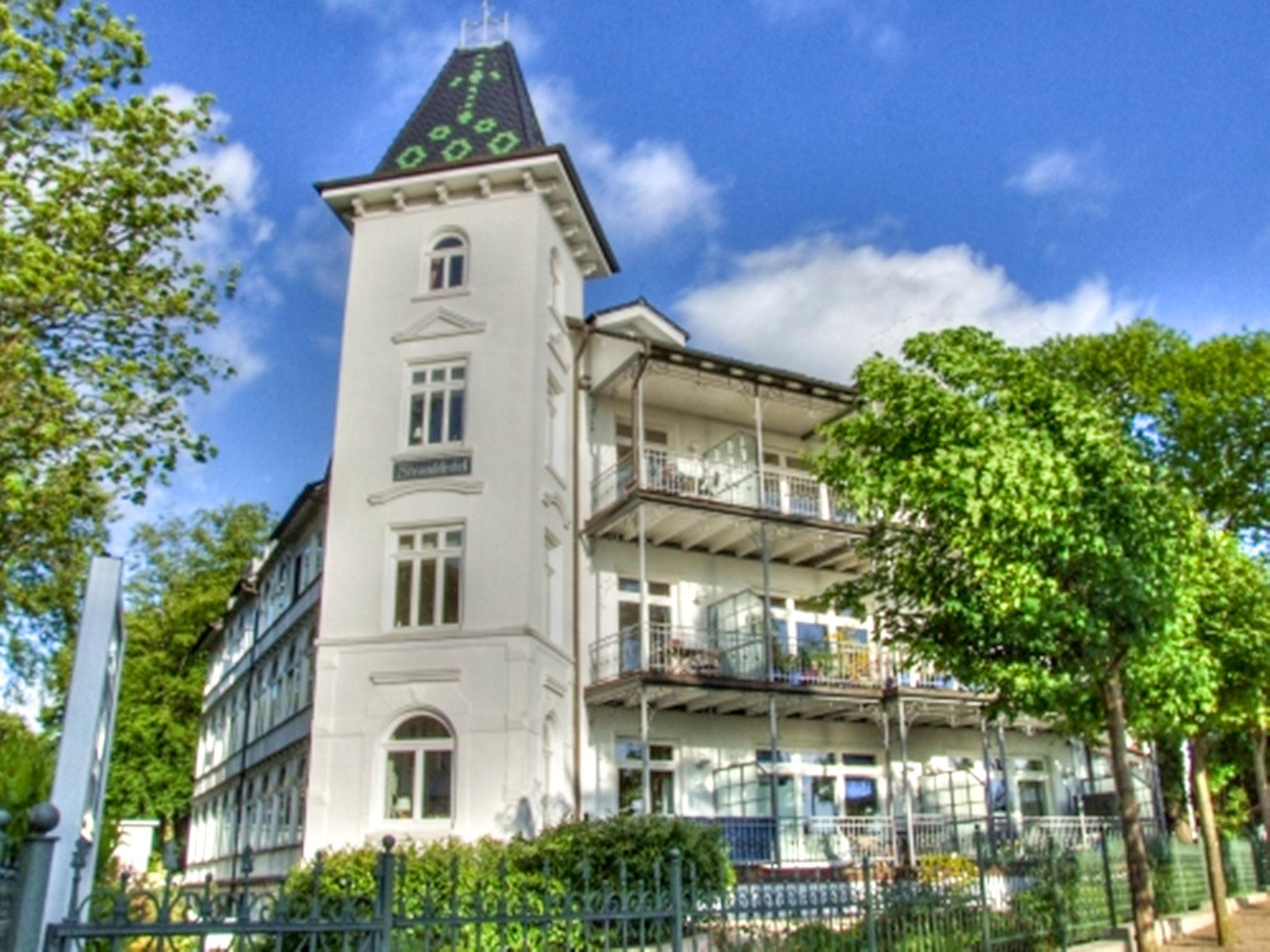 Villa Stranddistel -Ferienwohnung- 1. Binz auf Rügen