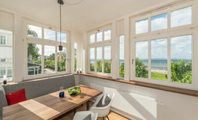 "Villa Strandeck – Luxusappartment ""Meeresleuchten"" mit Meerblick, direkt am Strand"