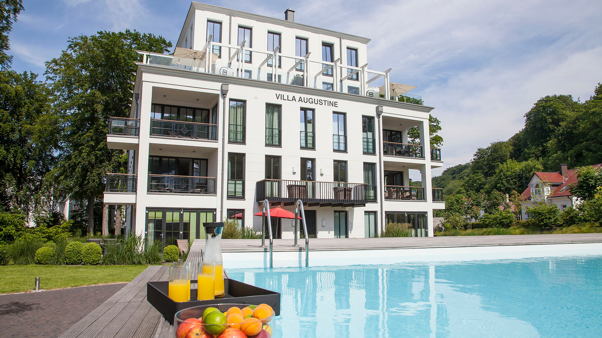 Parkvilla Augustine, Luxus Appartement BEACH CLOUD **** im Kurpark Ostseebad Binz