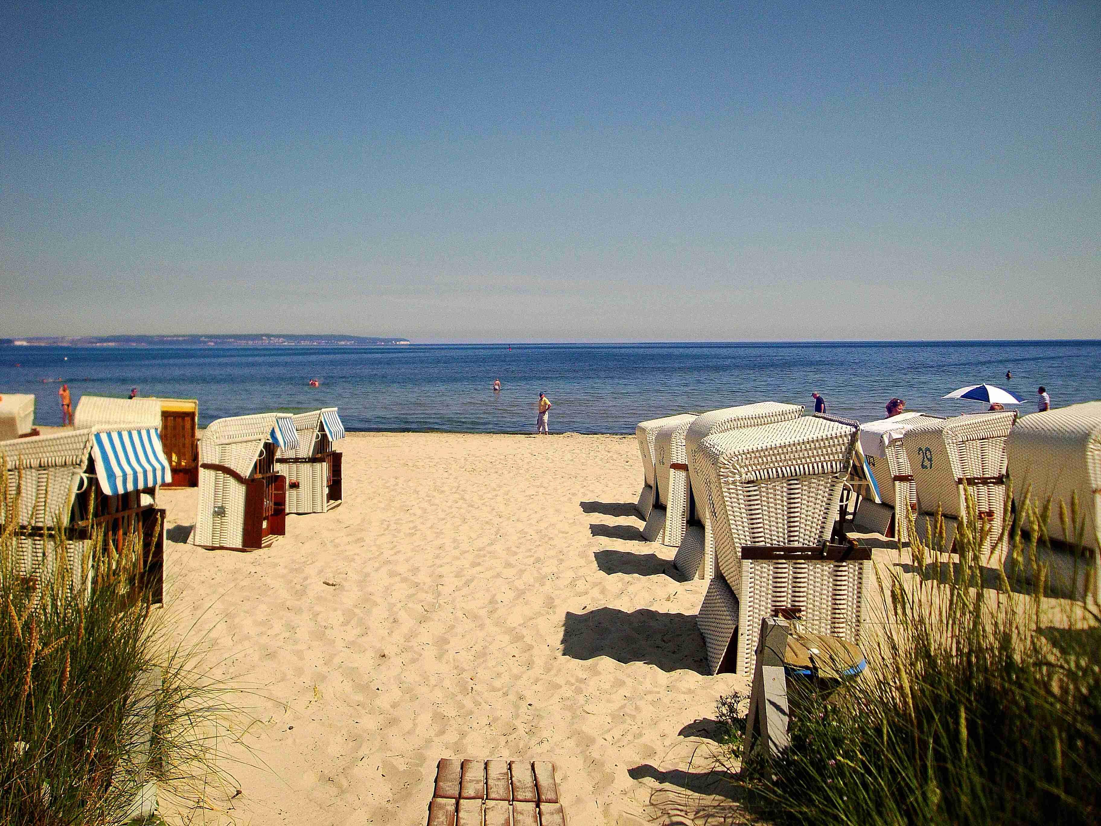 Seesschloss-Binz - Ferienwohnung 19 mit Meerblick direkt an der Strandpromenade in Binz auf Rügen