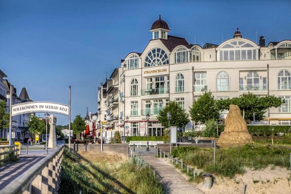Strandschloss Binz Luxus Residenz Ocean Cloud direkt an der Seebrücke