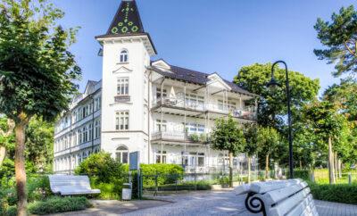 Villa Stranddistel – Appartement 1.4 direkt an der Strandpromenade in Binz