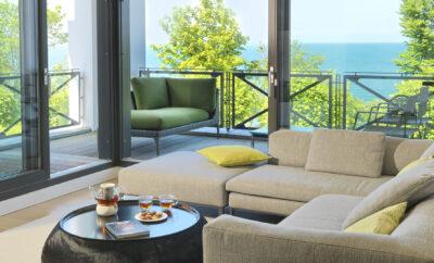***** Villa Claire Appartement SUNSHINE CLOUD – RÜGEN CLOUD Sellin an der Seebrücke