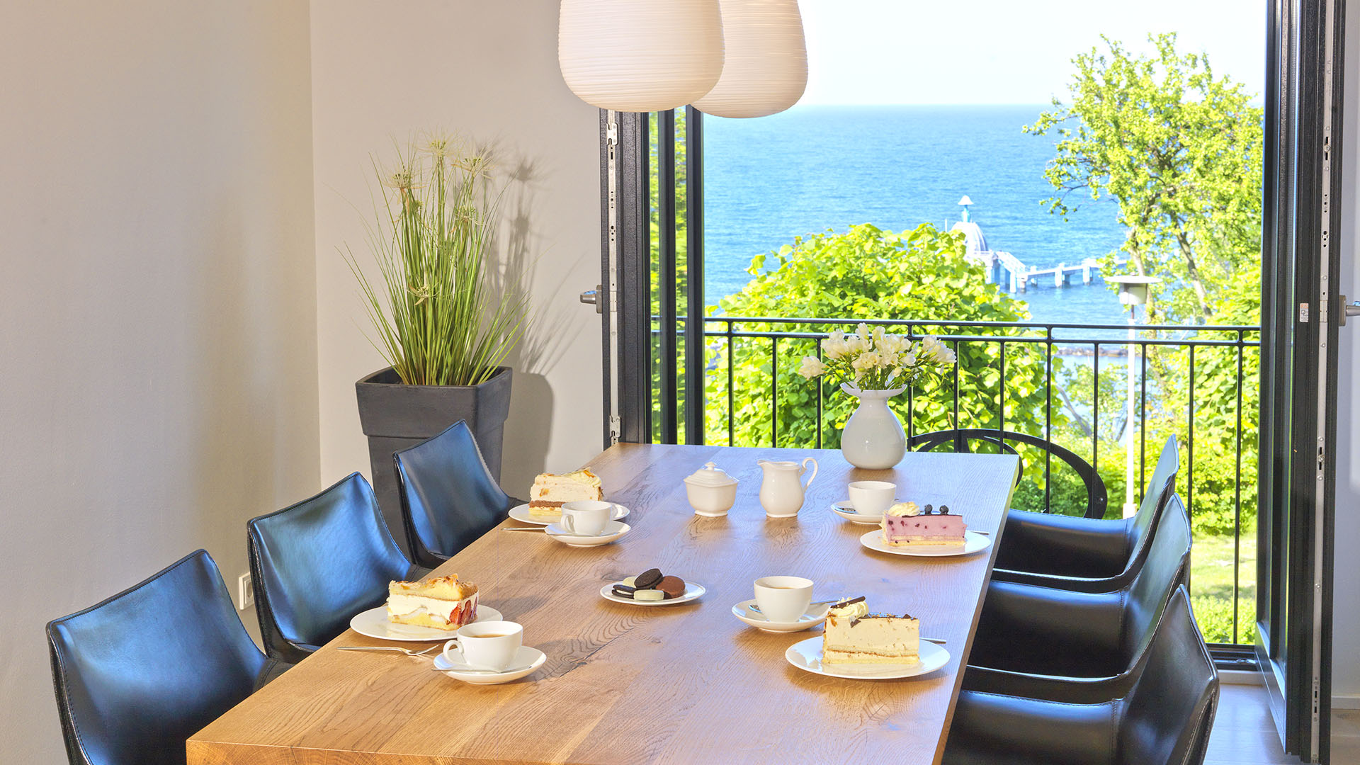 ***** Villa Philine Appartement WATERVIEW CLOUD mit direktem Meerblick