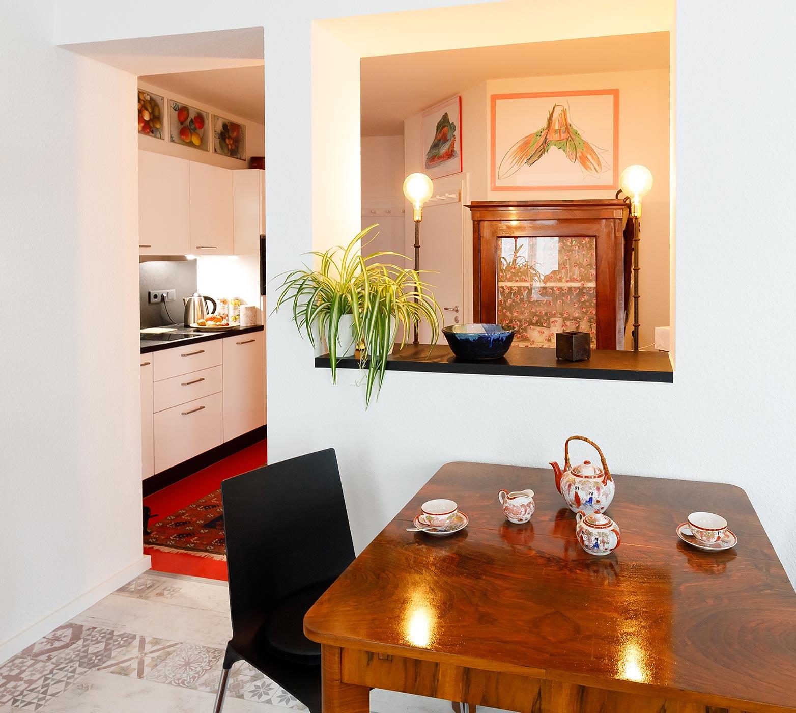 Appartement Amber in der Villa Freia, Ostseebad Binz, direkt an der Strandpromenade