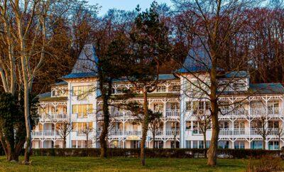 **** Seeschloss Appartment 27 – Strandpromenade Binz mit Balkon