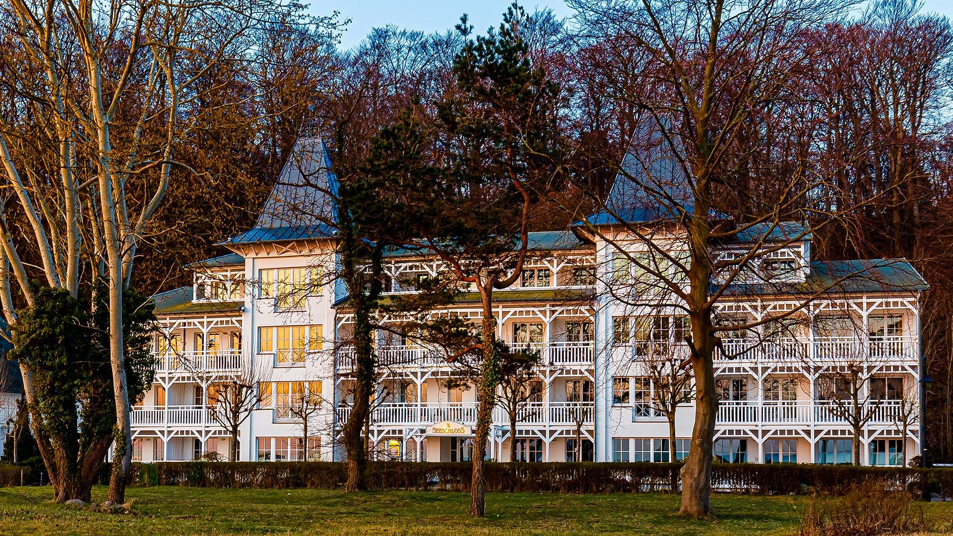 Seeschloss Binz Appartment 27 - direkt an Strandpromenade in Binz auf Rügen